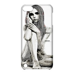 Stone Girl Apple Ipod Touch 5 Hardshell Case With Stand