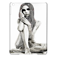 Stone Girl Ipad Air Hardshell Cases by Valentinaart
