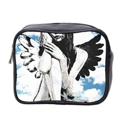 Angel Mini Toiletries Bag 2 Side by Valentinaart