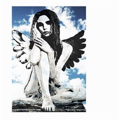 Angel Large Garden Flag (two Sides) by Valentinaart