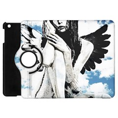 Angel Apple Ipad Mini Flip 360 Case by Valentinaart