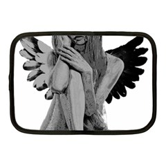 Stone Angel Netbook Case (medium)  by Valentinaart