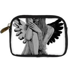 Stone Angel Digital Camera Cases by Valentinaart