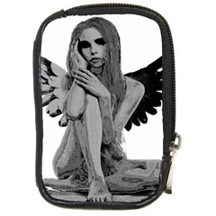 Stone Angel Compact Camera Cases by Valentinaart