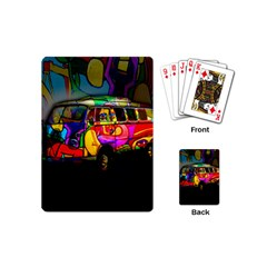 Hippie Van  Playing Cards (mini)