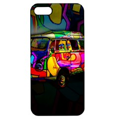 Hippie Van  Apple Iphone 5 Hardshell Case With Stand