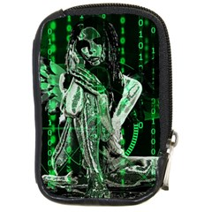 Cyber Angel Compact Camera Cases by Valentinaart