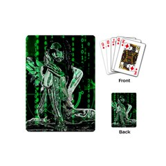 Cyber Angel Playing Cards (mini)