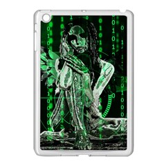 Cyber Angel Apple Ipad Mini Case (white) by Valentinaart