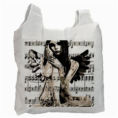 Vintage Angel Recycle Bag (two Side)