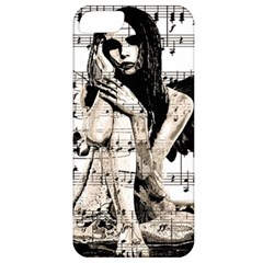 Vintage Angel Apple Iphone 5 Classic Hardshell Case by Valentinaart