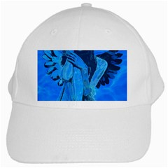 Underwater Angel White Cap by Valentinaart