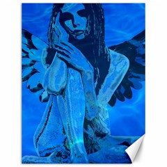 Underwater Angel Canvas 12  X 16   by Valentinaart