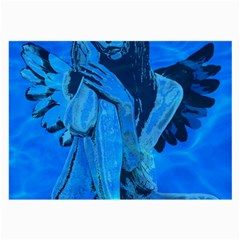 Underwater Angel Large Glasses Cloth (2 Side) by Valentinaart