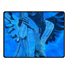 Underwater Angel Fleece Blanket (small) by Valentinaart