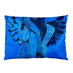 Underwater Angel Pillow Case (two Sides) by Valentinaart