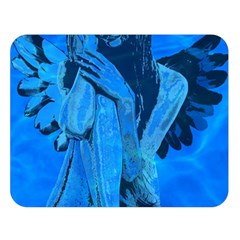 Underwater Angel Double Sided Flano Blanket (large)  by Valentinaart