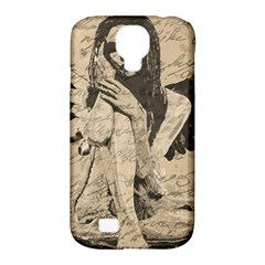 Vintage Angel Samsung Galaxy S4 Classic Hardshell Case (pc+silicone) by Valentinaart