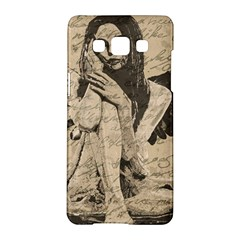 Vintage Angel Samsung Galaxy A5 Hardshell Case  by Valentinaart