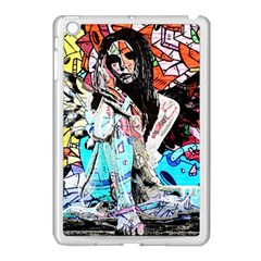 Graffiti Angel Apple Ipad Mini Case (white) by Valentinaart