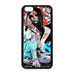 Graffiti Angel Apple Iphone 5c Seamless Case (black) by Valentinaart