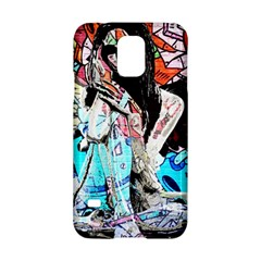 Graffiti Angel Samsung Galaxy S5 Hardshell Case  by Valentinaart