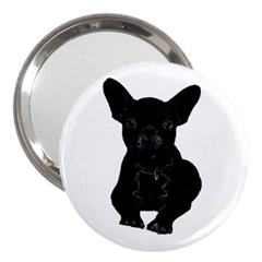 Bulldog 3  Handbag Mirrors