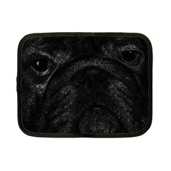 Black Bulldog Netbook Case (small)