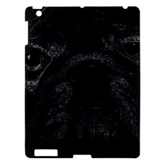 Black Bulldog Apple Ipad 3/4 Hardshell Case by Valentinaart