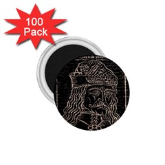 Count Vlad Dracula 1 75  Magnets (100 Pack)  by Valentinaart