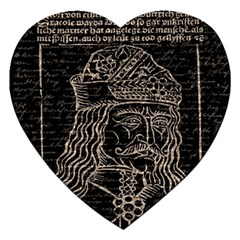 Count Vlad Dracula Jigsaw Puzzle (heart) by Valentinaart