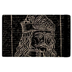 Count Vlad Dracula Apple Ipad 2 Flip Case by Valentinaart