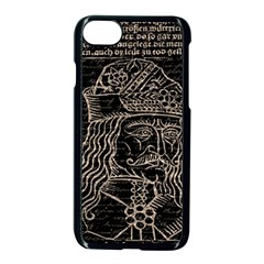 Count Vlad Dracula Apple Iphone 7 Seamless Case (black) by Valentinaart