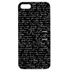 Handwriting  Apple Iphone 5 Hardshell Case With Stand by Valentinaart