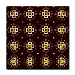 Seamless Ornament Symmetry Lines Tile Coasters by Simbadda