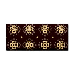 Seamless Ornament Symmetry Lines Cosmetic Storage Cases by Simbadda