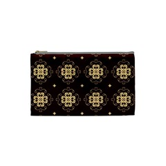 Seamless Ornament Symmetry Lines Cosmetic Bag (small)