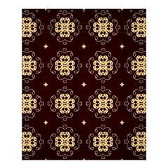 Seamless Ornament Symmetry Lines Shower Curtain 60  X 72  (medium)