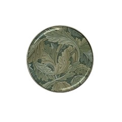 Vintage Background Green Leaves Hat Clip Ball Marker (4 Pack) by Simbadda