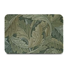 Vintage Background Green Leaves Plate Mats by Simbadda