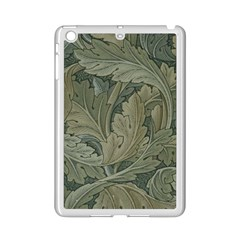 Vintage Background Green Leaves Ipad Mini 2 Enamel Coated Cases by Simbadda