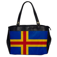 Flag Of Aland Office Handbags by abbeyz71