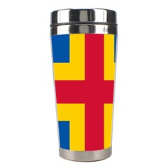 Flag Of Aland Stainless Steel Travel Tumblers by abbeyz71