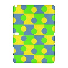 Abric Cotton Bright Blue Lime Galaxy Note 1 by Simbadda