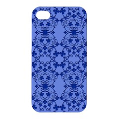 Floral Ornament Baby Boy Design Retro Pattern Apple Iphone 4/4s Premium Hardshell Case by Simbadda