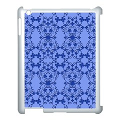 Floral Ornament Baby Boy Design Retro Pattern Apple Ipad 3/4 Case (white) by Simbadda