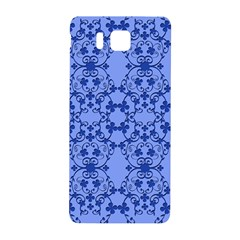 Floral Ornament Baby Boy Design Retro Pattern Samsung Galaxy Alpha Hardshell Back Case