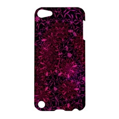 Retro Flower Pattern Design Batik Apple Ipod Touch 5 Hardshell Case by Simbadda