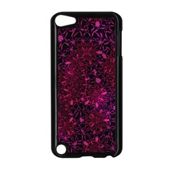 Retro Flower Pattern Design Batik Apple Ipod Touch 5 Case (black) by Simbadda