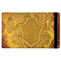 Vintage Scrapbook Old Ancient Retro Pattern Apple Ipad 2 Flip Case by Simbadda